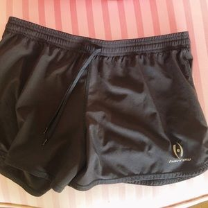harrow black athletic shorts